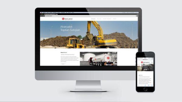 Brent Petrol - Website Tasarımı