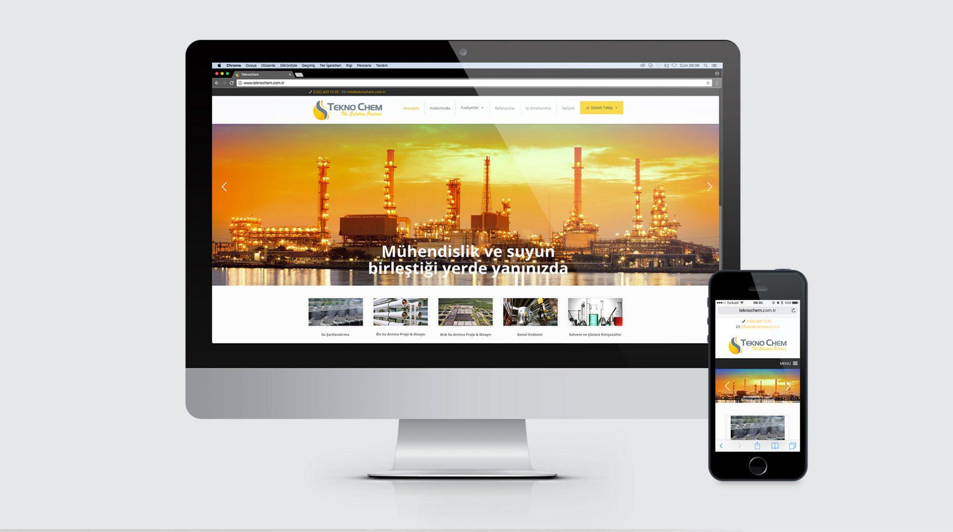 Tekno Chem - Website Tasarımı