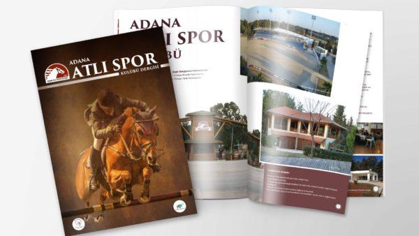 Adana Atlı Spor Kulübü - Dergi Tasarımı