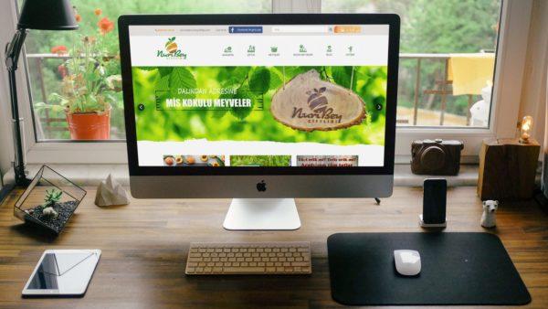 E-ticaret Sitesi Nuri Bey Çiftliği