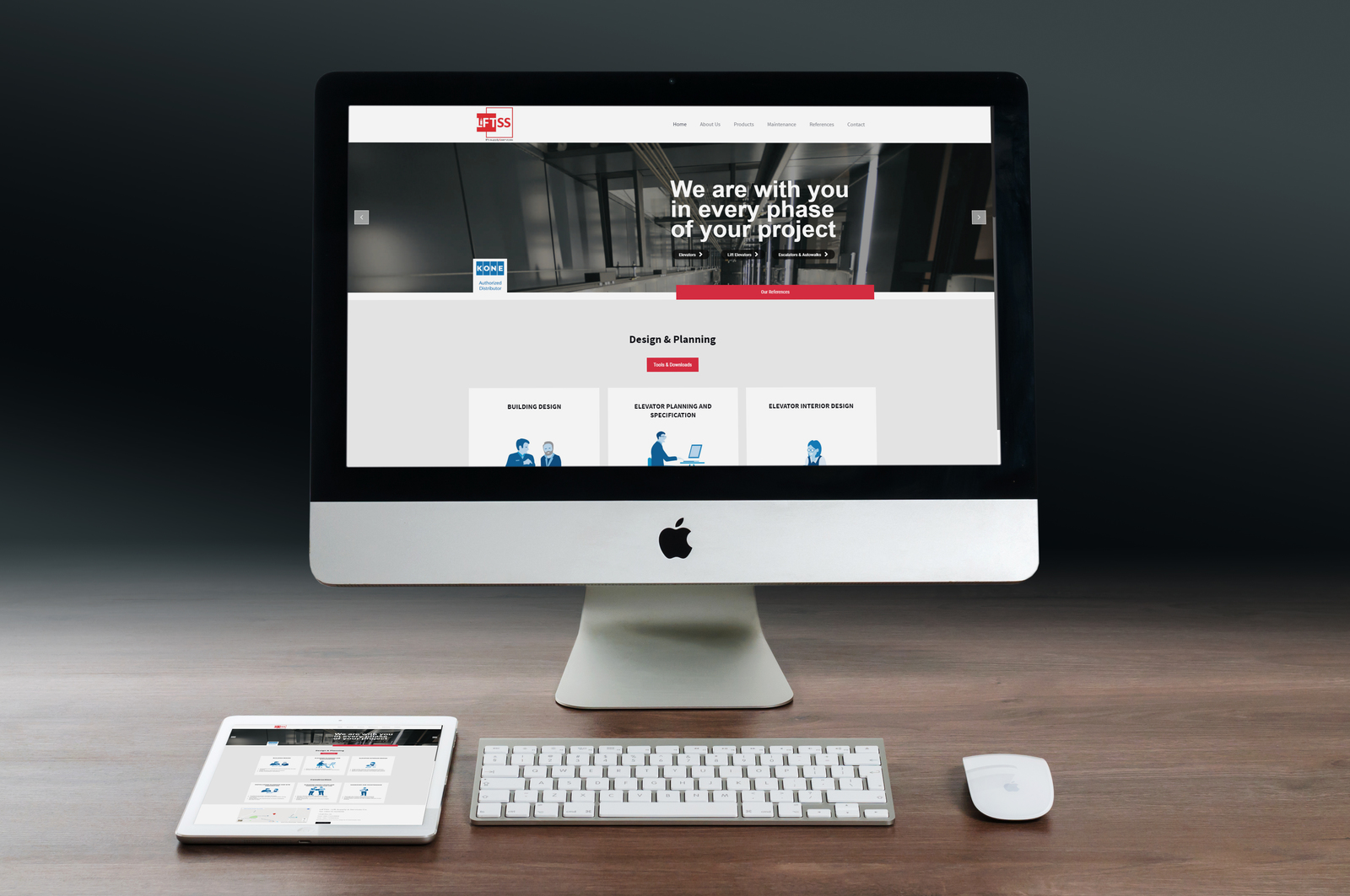 Liftss - Website Tasarımı