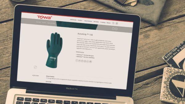 Towa Eldiven Web Sitesi Adana