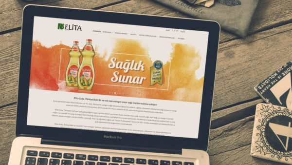 Elita Gıda A.Ş. Web Tasarımı